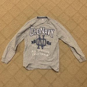 Old Navy Graphic Long Sleeve Tee
